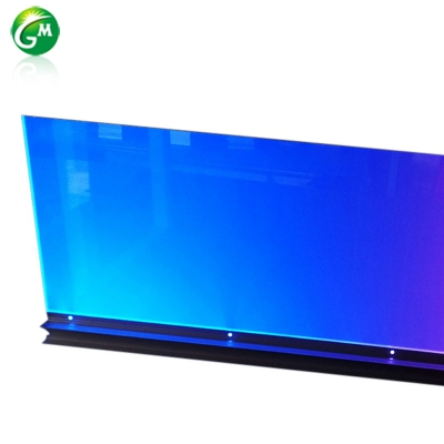 LED light guide plate curtain wall lamp GMXQD026