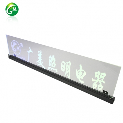 LED light guide plate curtain wall lamp GMXQD025